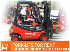 Fork-lifts for rent